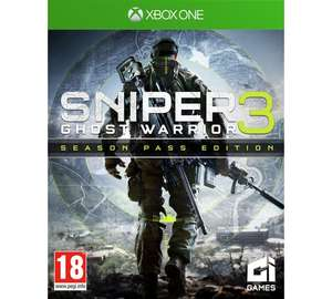 Sniper Ghost Warrior Season Pass Edition XBOX One - £15.99 @ Argos
