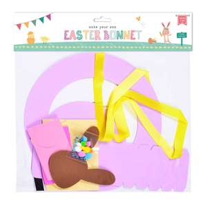 Make Your Own Easter Bonnet Sets now 50p C+C / instore @ Dunelm - more in OP