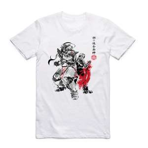 Fullmetal Alchemist Japanese Anime Sumi T-shirt (4 designs) only £3.57 delivered @ AliExpress / TXHMUT TT