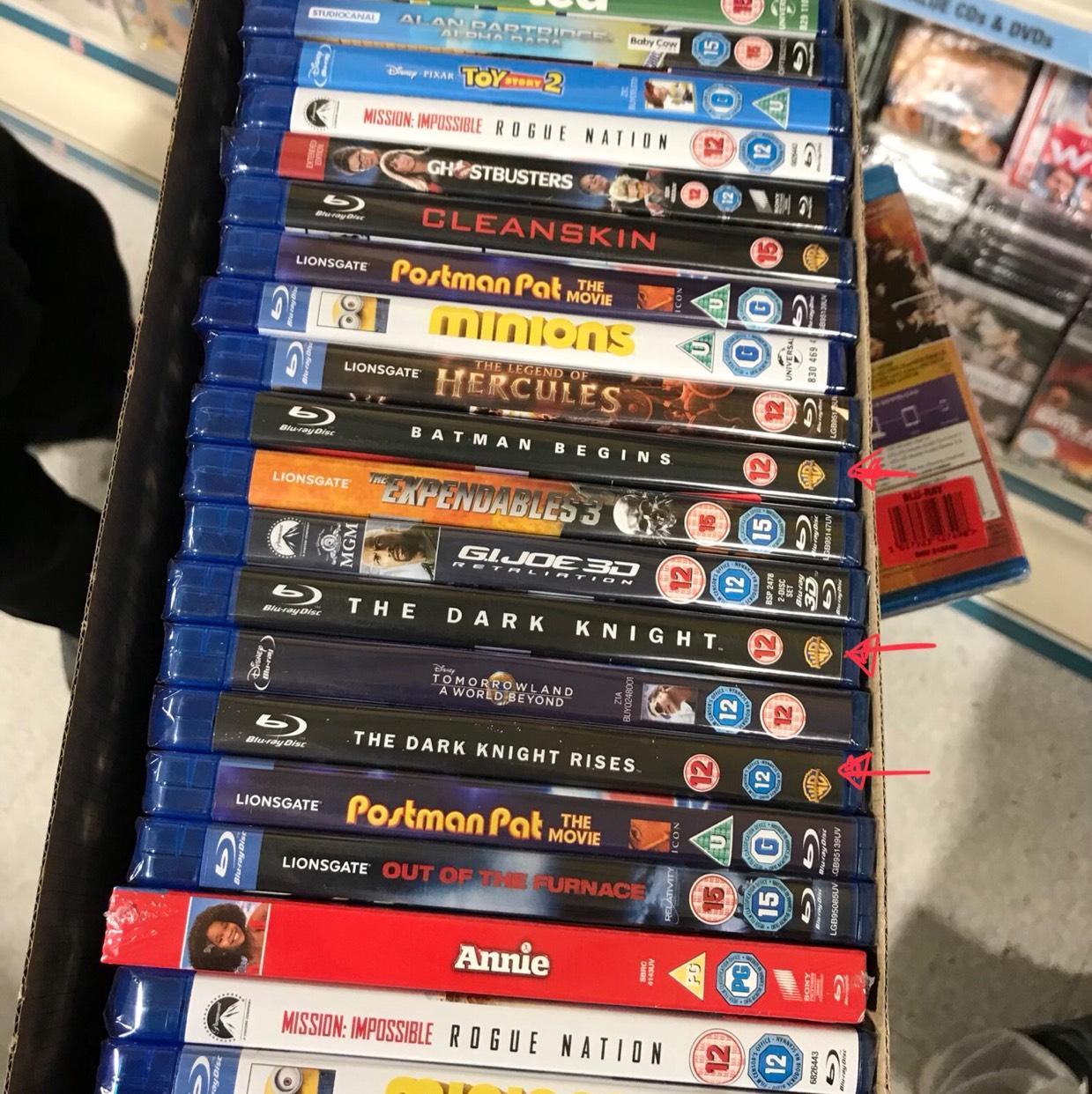 Dark Knight Trilogy £3 at POUNDLAND