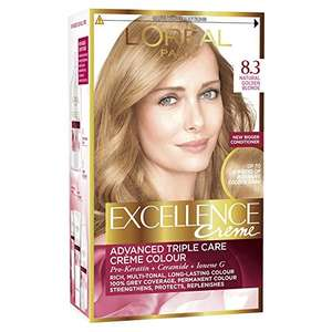 pack of 3 golden blonde hair dye £5 @ Amazon (Prime Exclusive)