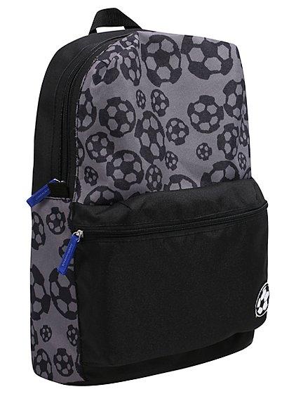 Football print backpack £4 @ asda george
