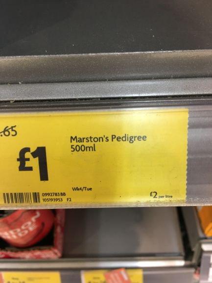 Marton's Pedigree Ale 500ml @ £1 a bottle @ Morrisons (instore)
