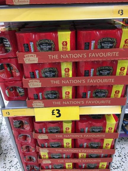 6 Cans Heinz Tomato Soup £3 instore @ Morrison (Llanishen)