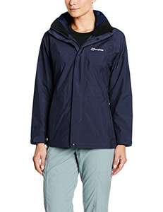 Berghaus Women Glissade III Gore-Tex Waterproof Jacket Dusk Size 10 £30.90 @ Amazon