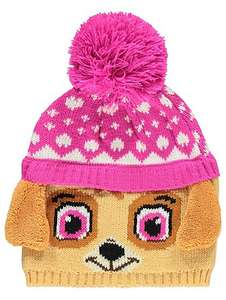 Paw patrol Skye OR Chase bobble hat OR Chase trapper hat £3 @asdageorge