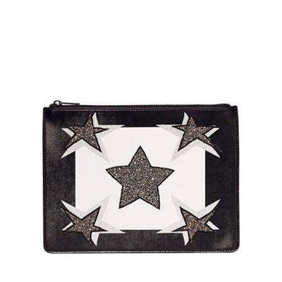 Juicy Couture; Black 'Monterey' clutch bag @ debenhams £14.70 from £49!