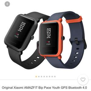 Original Xiaomi AMAZFIT Bip Pace Youth GPS Bluetooth 4.0 IP68 Smart Watch £56.63 @ Banggood