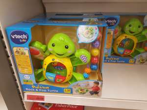 vtech rock and pop turtle was £35 now £10.50 instore at sainsburys stanway