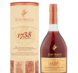 Rémy Martin 1738 down to £40 @ Morrisons in store and online.