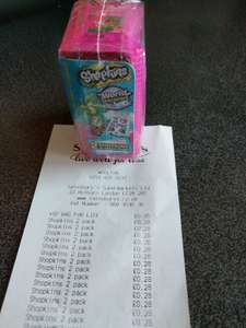Shopkins Series 8: world vacation 2 pack only 28p instore at Sainsbury's Woolton