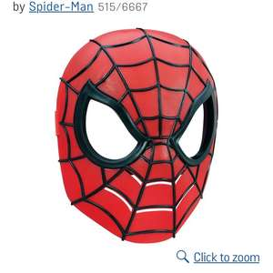 Spider-man hero mask £2.99 c&c from Argos