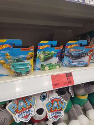 Hotwheel cars reduced to 10p instore at B&M
