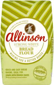 Allinson Strong White Bread Flour 1.5kg only 75p @ Asda