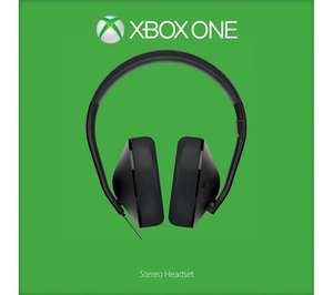 MICROSOFT Xbox One Stereo Headset £29.99 @ Currys
