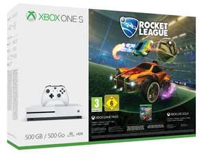 Xbox One S 500GB + Rocket League + Forza Horizon 3 + Extra Wired Controller + 3 months Xbox Live £203.65 @ Gamestop Ireland