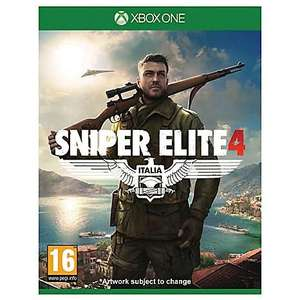 Sniper Elite 4 Xbox One in store at Asda UK wide - £15