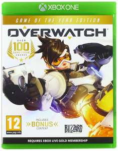 Overwatch Game of the Year Edition (Xbox One) £22 @ Amazon - Prime exclusive