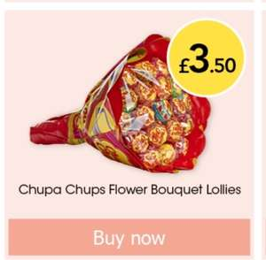 Chupa Chups flower bouquet £3.50 online and in store @ Wilko