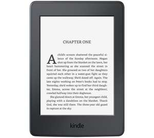 "Kindle Paperwhite E-reader, 6"" @ Argos - £89.99"