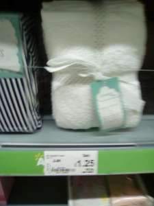 Pack of 2 white hooded baby bath towels £1.25 @ Asda INSTORE