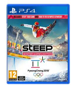Steep Winter Games Edition (PS4 & Xbox One) £19.99 @ Ubisoft (+ £8.99 Delivery or add item for 1p+ for free delivery) £15.99 with Ubi points code