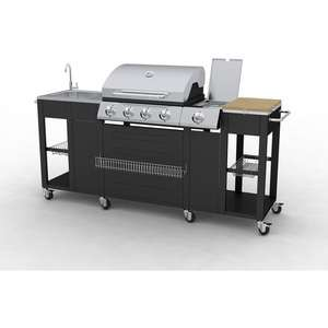 Montana Outdoor Kitchen  Barbeque at Manomano £361.99 delivered.