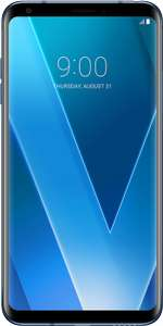 LG V30 - 24 month contract - O2 Unlimited mins/texts, 3GB data. £0.99 up front, £27pm (£648.99). On Vodafone w/ 4GB data, £100 up front, £23pm (£652) @ Mobiles.co.uk