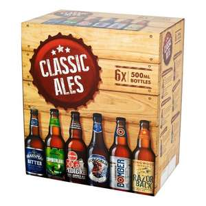 Classic Ales for less than £1 each - £4.75 @ Sainsbury's