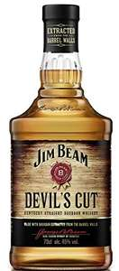Jim Beam Devils Cut Bourbon Whiskey £15 Prime / £19.75 Non Prime @ Amazon