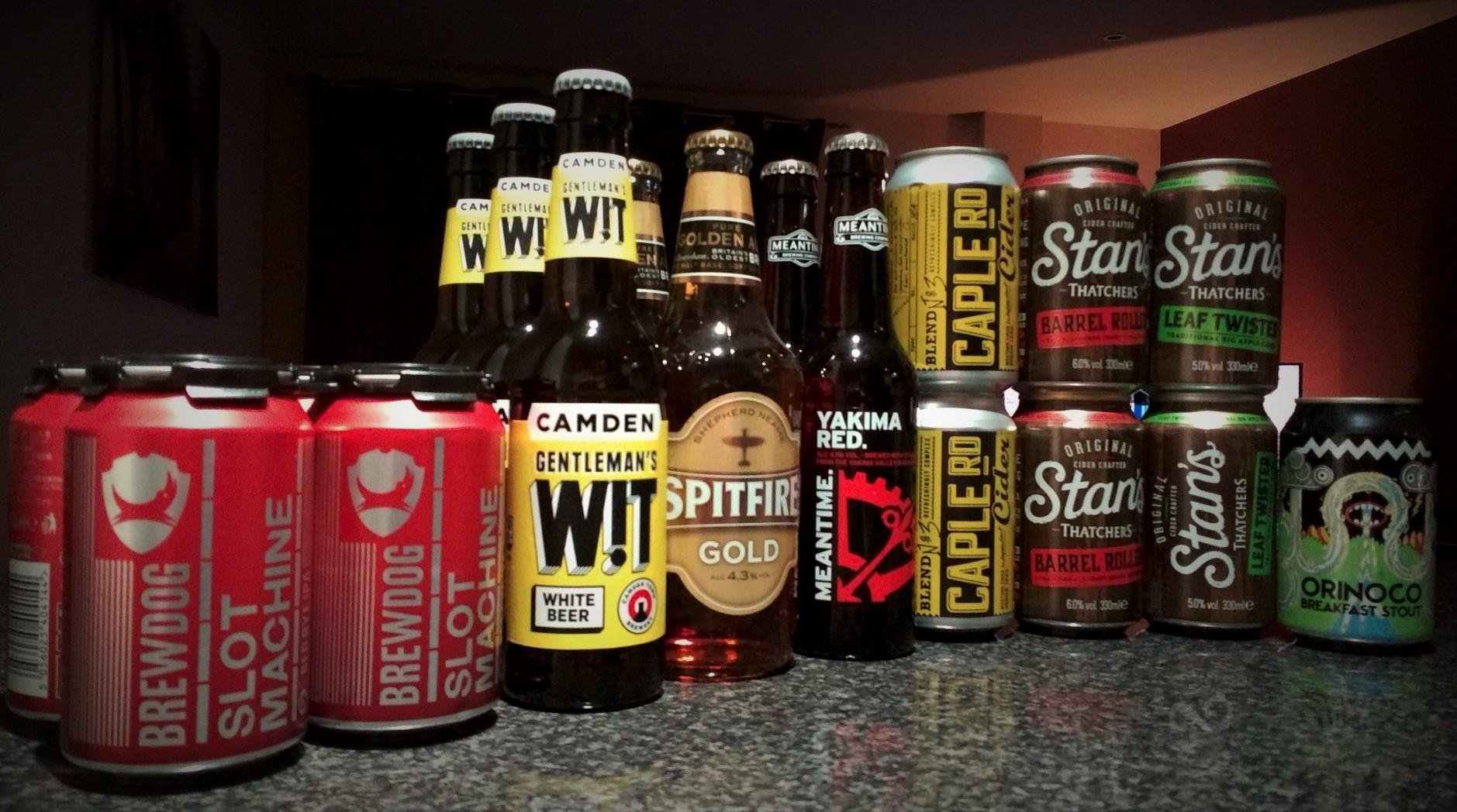 Various half price Ales, Beers & Ciders @ Sainsbury's (Lancaster) from 75p