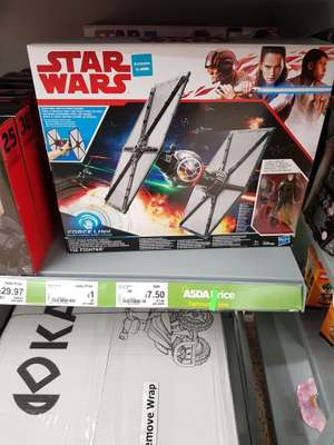 Star Wars Tie Fighter £7.50 in store @ Asda (national)
