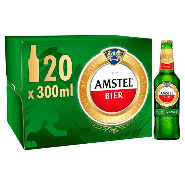 Amstel bier 20x 300ml bottles @ Home bargains