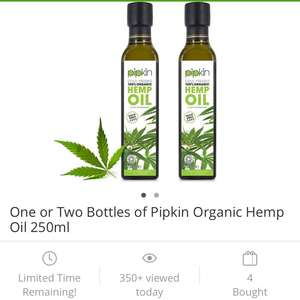 Organic Hemp Oil - £6.99 via Groupon (plus £1.99 P&P)