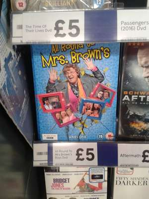 All round to Mrs Brown's series 1 dvd - £5 instore @ Tesco