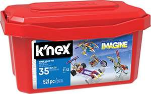 K'Nex Tub Building Set (521-Piece) - £12 @ Amazon Prime / £16.75 non-Prime