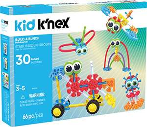 Kid K'NEX Build A Bunch Set for Ages 3+, Construction Educational Toy, 66 Pieces £9.20 (Prime) £13.95 (Non Prime) @ Amazon - cheapest its ever been!!