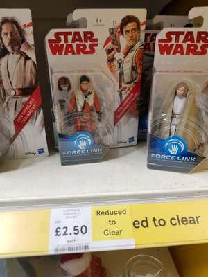 Star Wars Figures(Force Link) reduced to £2.50 @ Tesco Hinckley instore only.