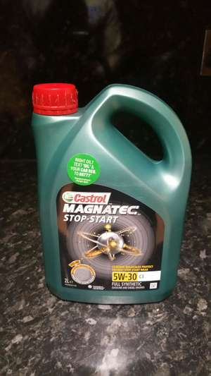 Castrol magnatec 2 litre engine oil - £9 instore @ Tesco (Bradford - should be nationwide)