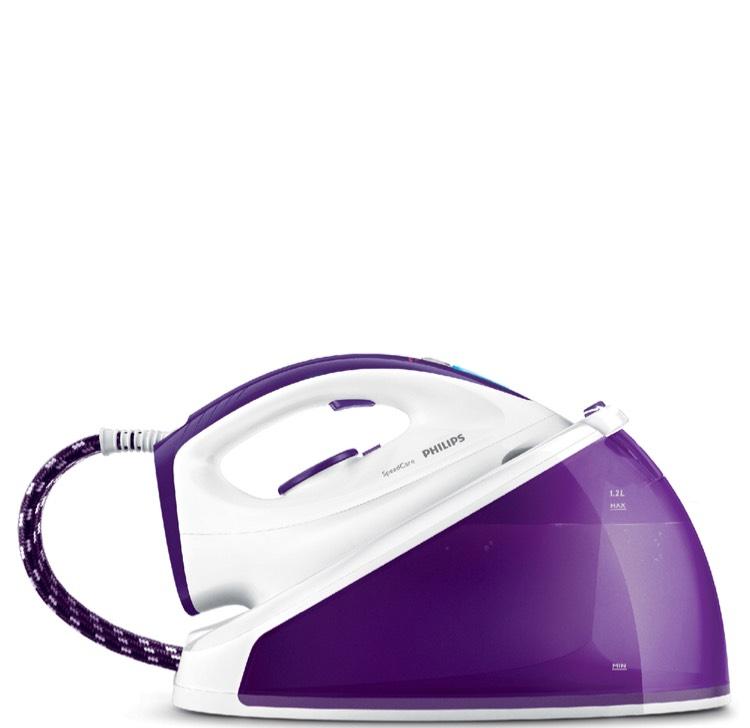 Philips GC6612/30 Speed Care Steam Generator Iron - White & Purple - £49 @ Tesco Direct