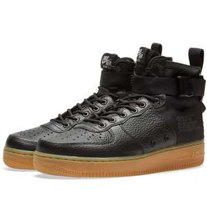 Nike SF Air Force 1 Mid 'Black Gum' £61.95 including delivery @ End Clothing