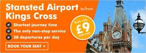 easyBus transfer London to Stansted, Luton & Gatwick Airport from £1.99