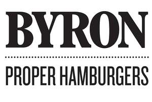 Byron Lunch Menu - a Burger, Side and Drink for £10