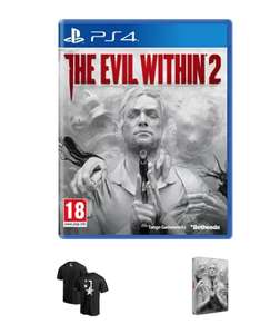 The Evil Within 2 + T-Shirt & Steelbook - PS4/Xbox One - £19.99 @ Game.co.uk