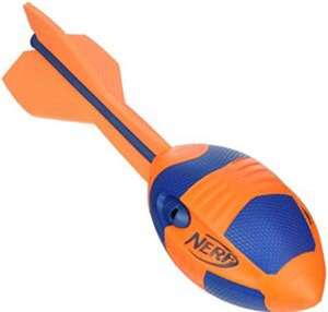 NERF Sports Aero Howler Football £2.72 as an add on item from Amazon