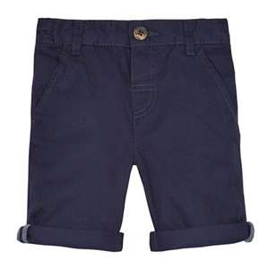 Blue zoo boys chino shorts age 12-18 months only LOW stock  ( choice of colours) was £7 NOW £2.10 Del with code @ Debenhams