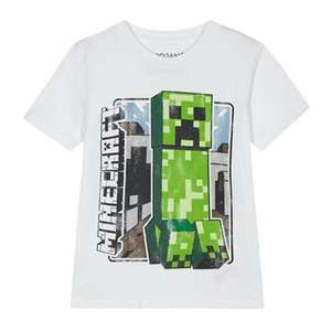 Minecraft t-shirt age 4-5, 6-7 yrs, £3.60 Del w/code LOW stock @ Debenhams