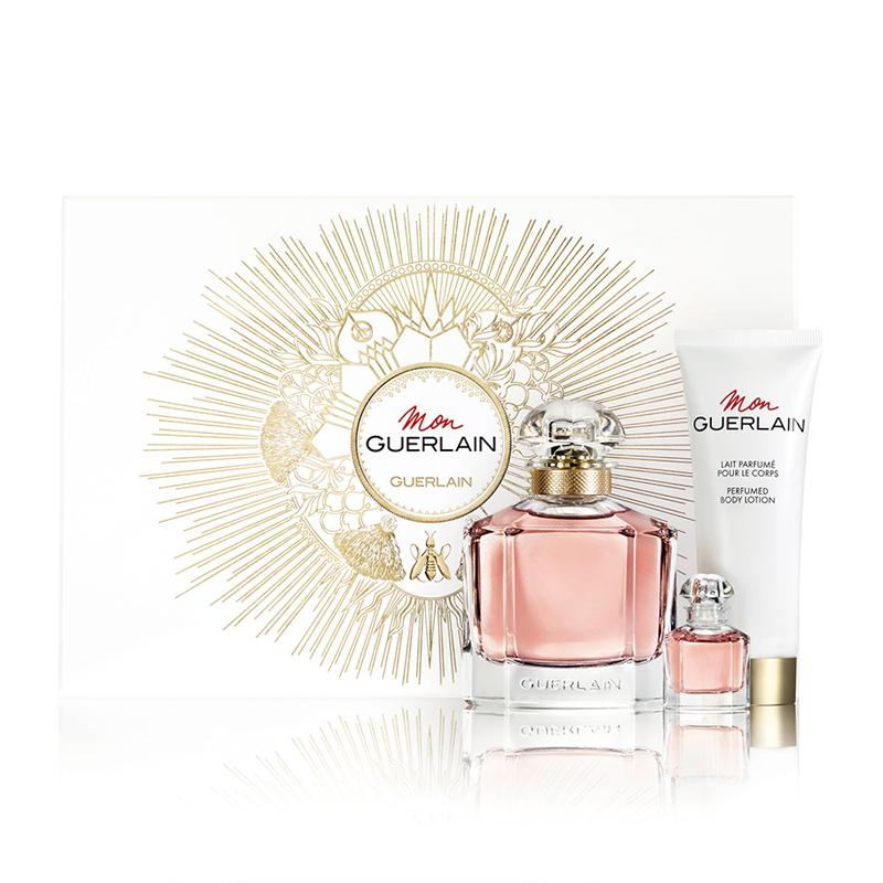 Mon Guerlain Eau de Parfum 100ml Gift Set & Free Gift Minature Eau De Parfum 5ml £64.00 @ Feel Unique
