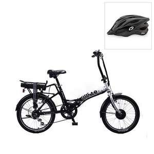 £150 off when You Buy the Elife Royale 6sp 36v 250w Electric Folding Bike 20inch Wheel with FREE Coyote Sierra Bike Helmet @ Ideal Home TV