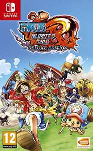 One Piece Unlimited World Red - Deluxe Edition (Nintendo Switch) £25.85 (Prime) £27.84 (non-Prime) at Amazon